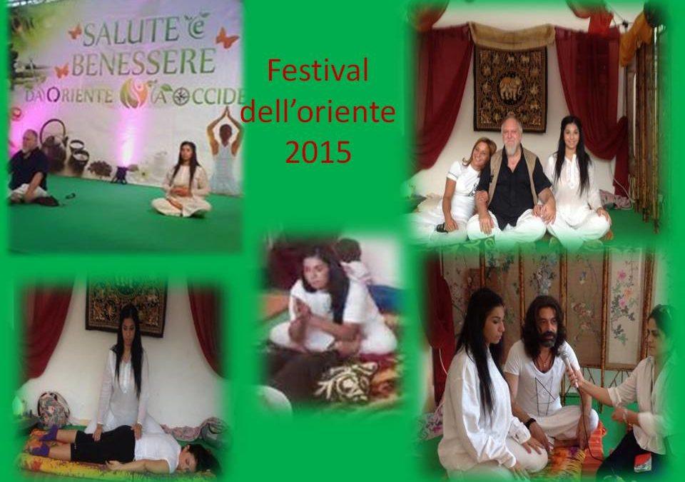 FESTIVAL DELL'ORIENTE 2015